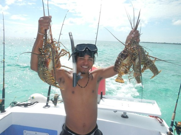 belize lobster