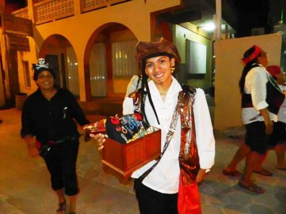 Carnival Comparsas san pedrro town