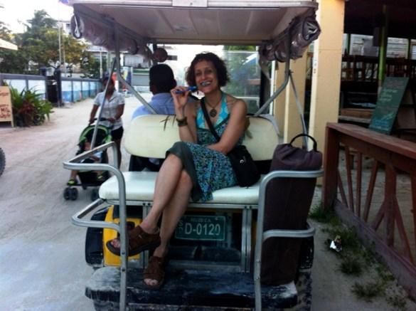 golf cart taxi