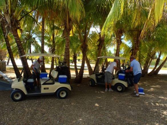 Travel Tuesday Taking our Mulligan at Caye Chapel