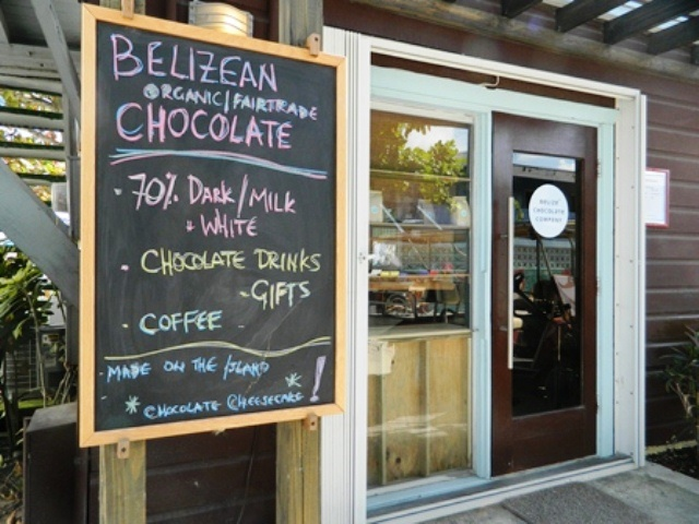 belize chocolate company in san pedro town