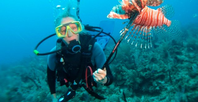 'Spearheading' Lionfish conservation in Belize this September!!!!