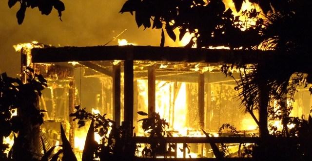 Tragic Fire at Ramon's Village