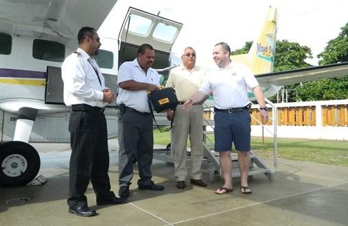 Maya Air gets a Life Pak 500 from Bandage International