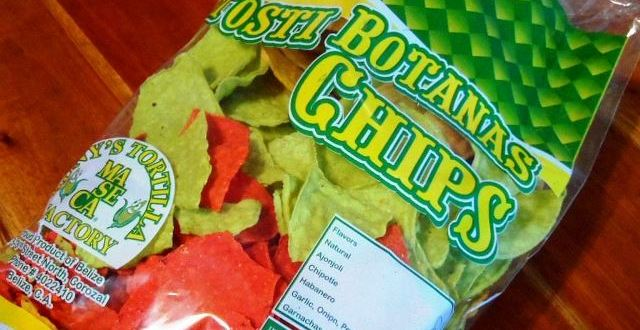 The Best Tortilla Chips on Ambergris Caye come from Corozal Belize