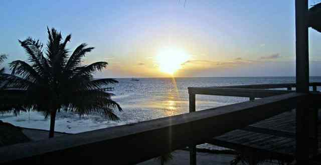 Tech Free Day and a First Stay on Ambergris Caye
