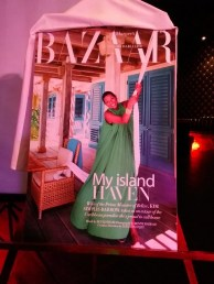 kim simplis barrow and belize in harper's bazaar magazine