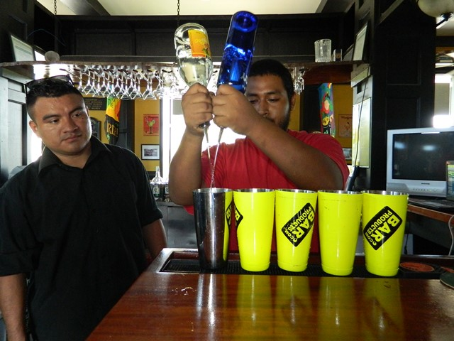 introduction to bartending course from the belize institute of mixology