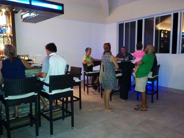 rain restaurant at grand caribe resort belize