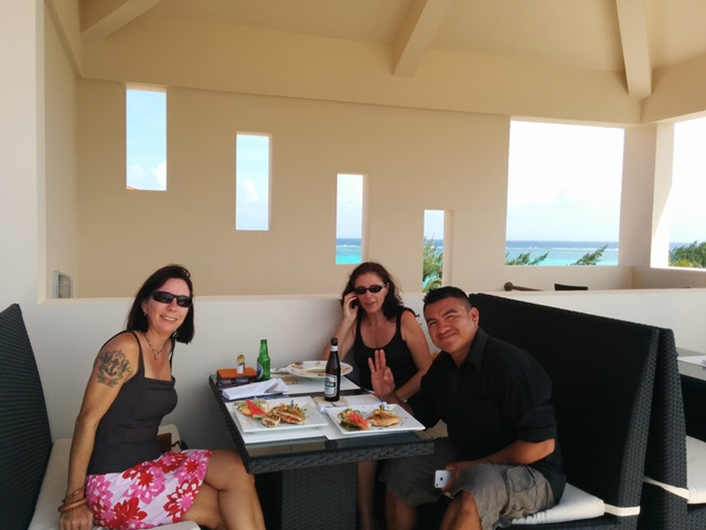rain restaurant at Grand Caribe