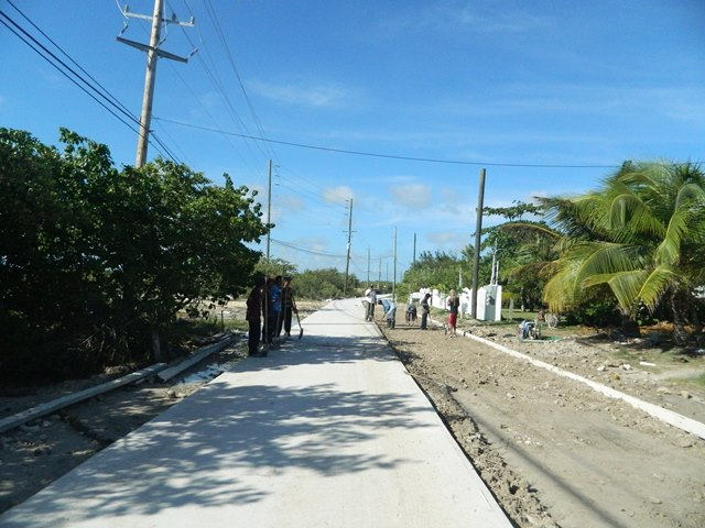 road north ambergris caye