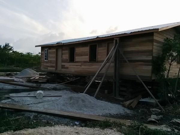 Mennonite house Belize