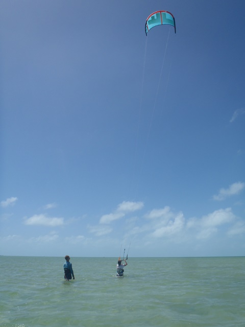 kitesurfing in Belize