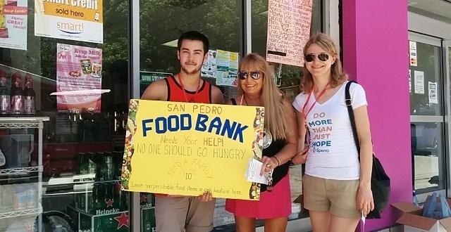San Pedro Food bank food drive