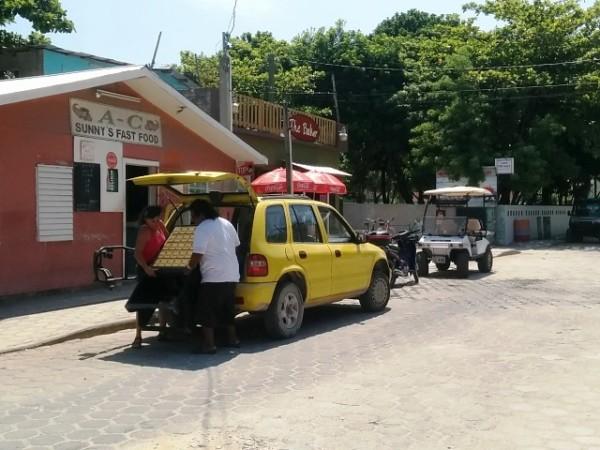 Belize postal service
