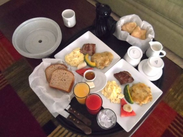 Belize breakfast