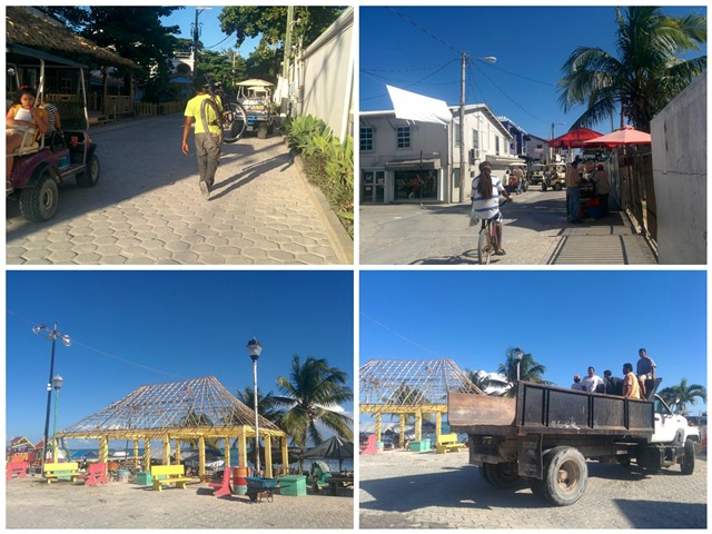 December 2016 in San Pedro Belize
