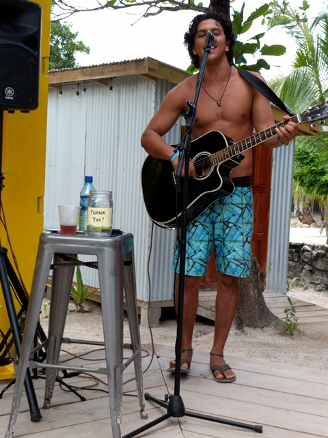 Live music on Ambergris Caye