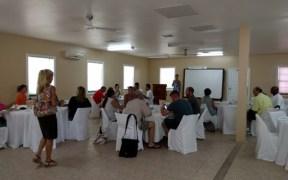 New Belize Rotary Club meeting at Banyan Bay