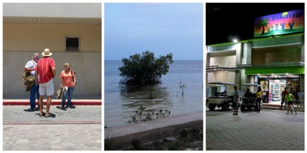 Island life Ambergris Caye Belize