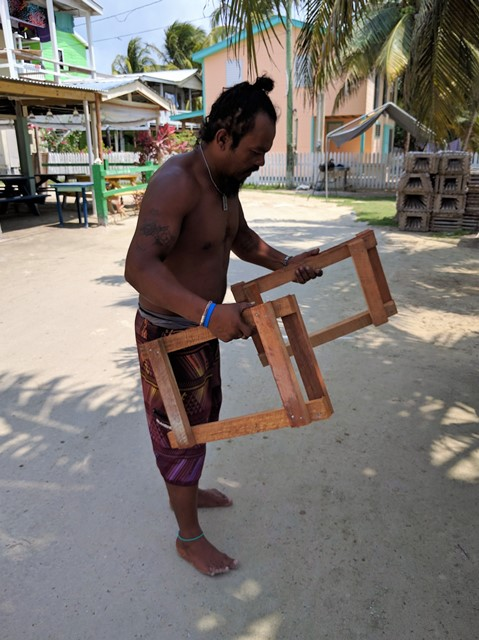 2016 lobster season Caye Caulker Belize