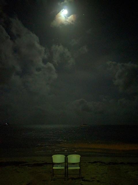 San Pedro Belize at Night