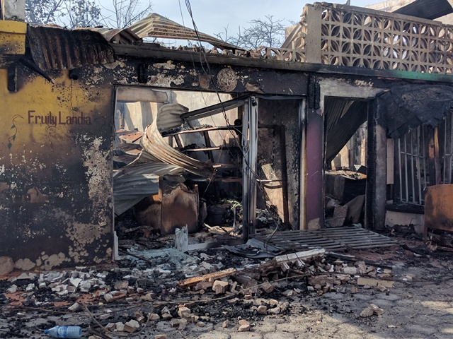 San Pedro Belize fire victims need help