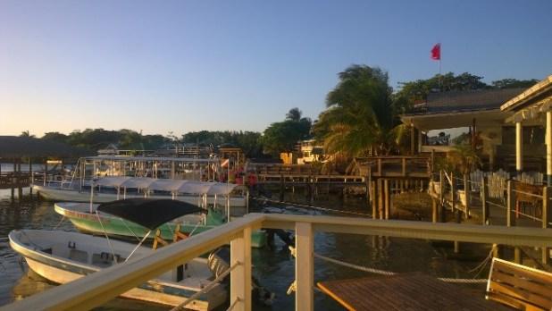 West End area of Roatan Honduras