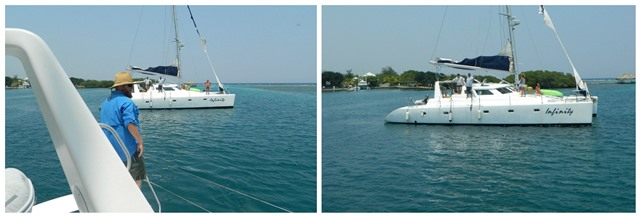 Sailing from Belize to Roatan