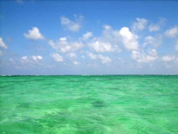 West side of Ambergris Caye