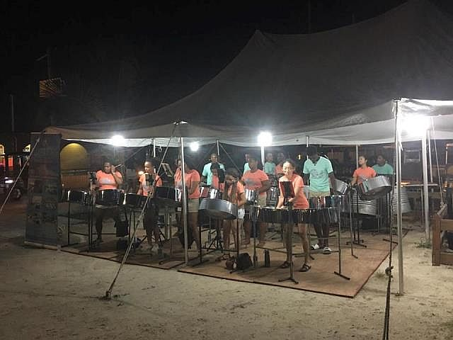 Steel Drum Band in Belize