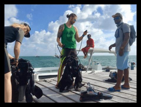 Dive Shop For Sale Ambergris Caye