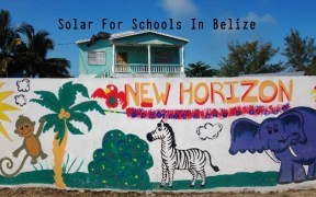 Solar For Schools In Belize 2018