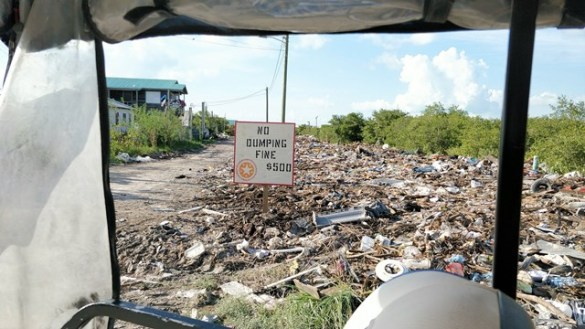 Ambergris Caye Clean Up Campaign