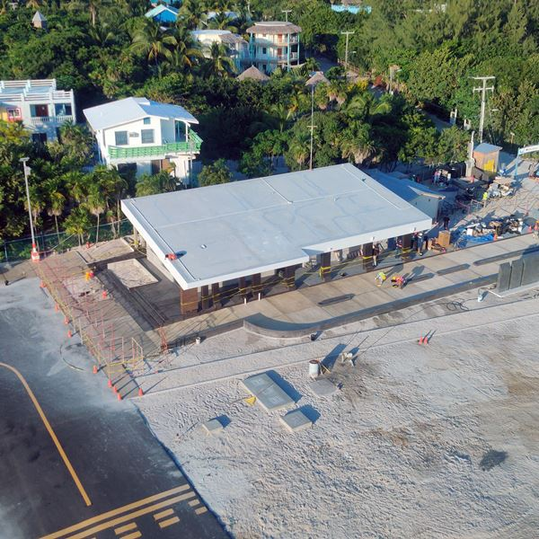 Belize Airline News Caye Caulker Terminal