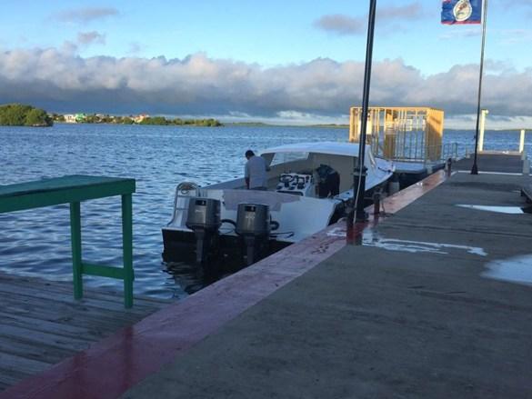 Exodus Water Taxi from San Pedro to Corozal