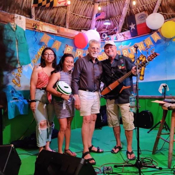 Palapa Bar and Grill beach bar San Pedro Belize