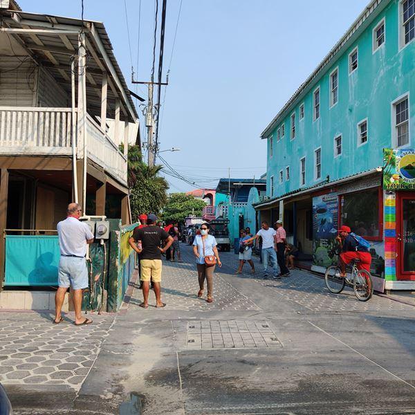 Surviving Covid-19 in San Pedro Belize