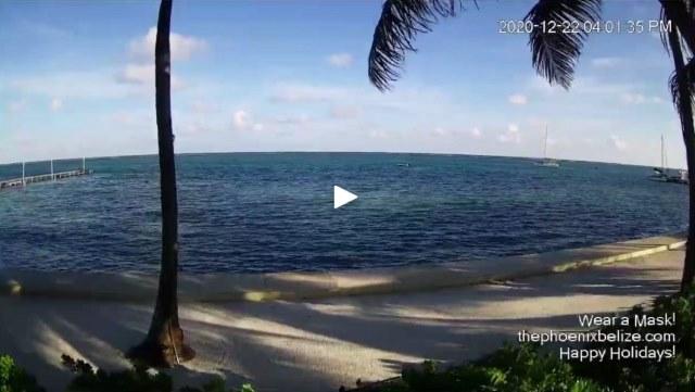 San Pedro Belize Restaurant Webcam