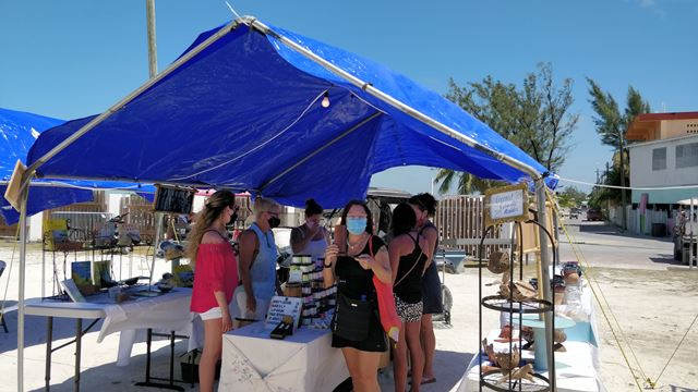 First San Pedro Town Council Market Day