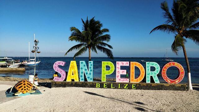 Central Park San Pedro Belize