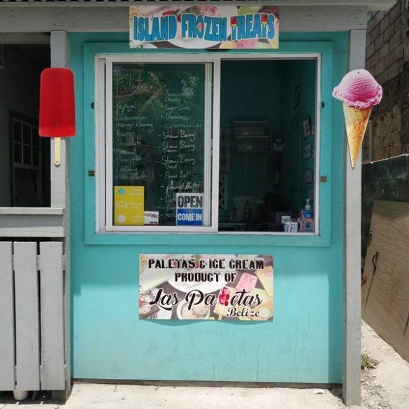 ice cream downtown san pedro belize