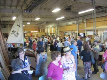 Participants at the TCBB fundraising event, Promises Made, Promises Kept. July 1, 2015, at the TCBB Boat House.