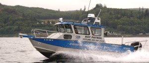Citizens for a Health Bay patrol boat