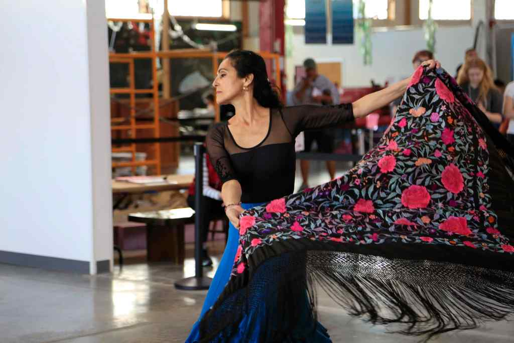 Flamenco dancer Marisela Fleites