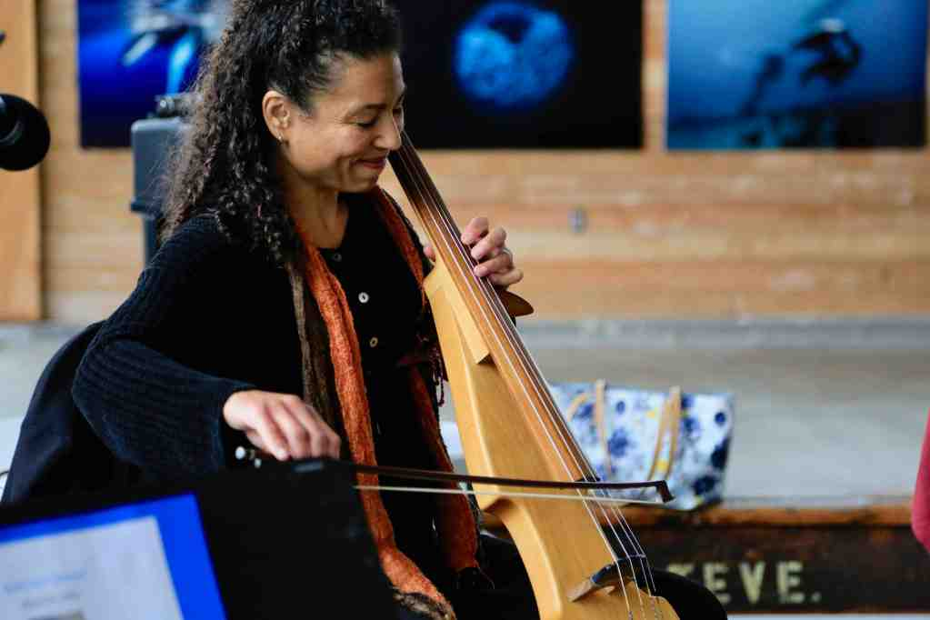 Gretchen Yanover electric cello