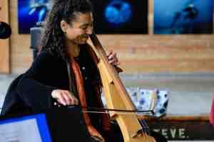cellist Gretchen Yanover