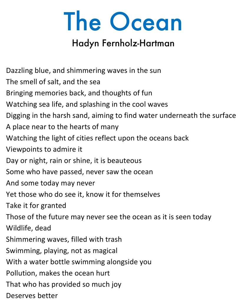 Hadyn Fernholz-Hartman - The Ocean