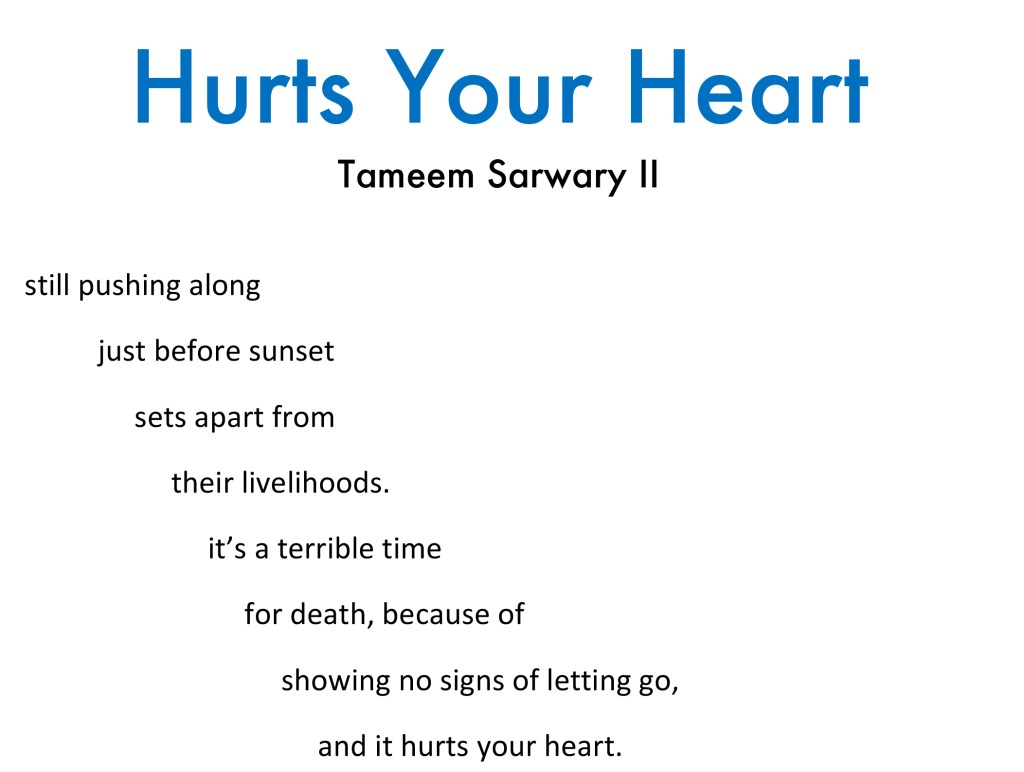 Tameem Sarwary - Hurts Your Heart