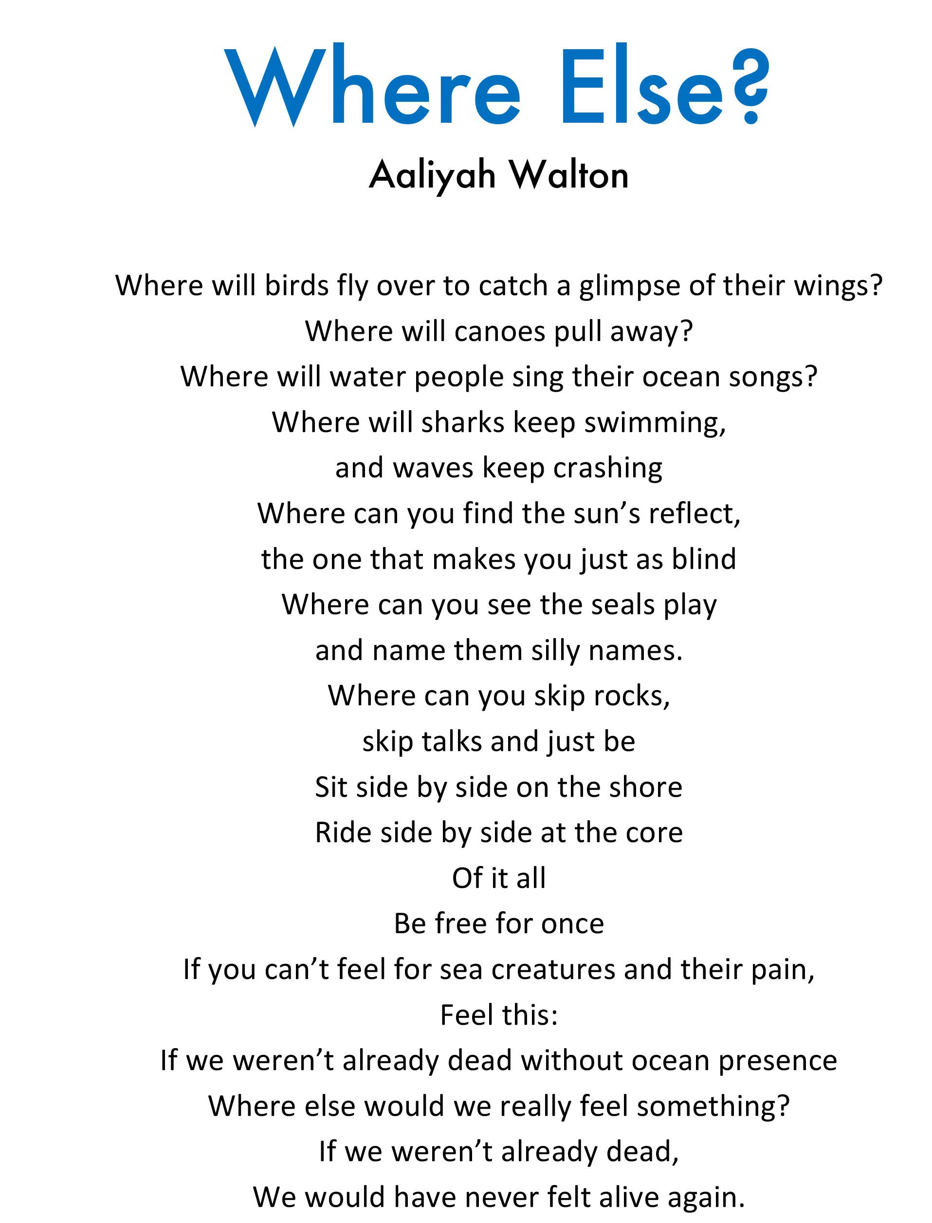 Aaliyah Walton - Where Else